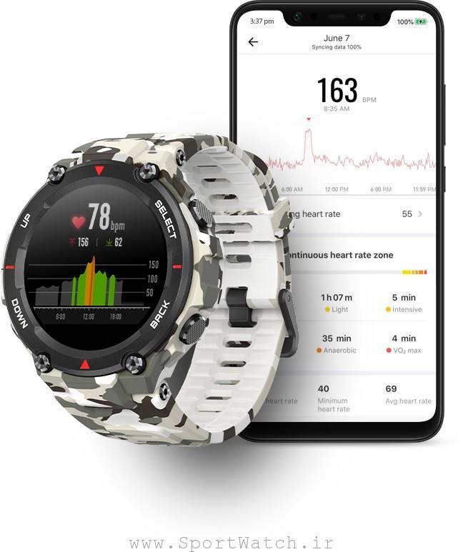 ساعت Xiaomi Amazfit T-Rex
